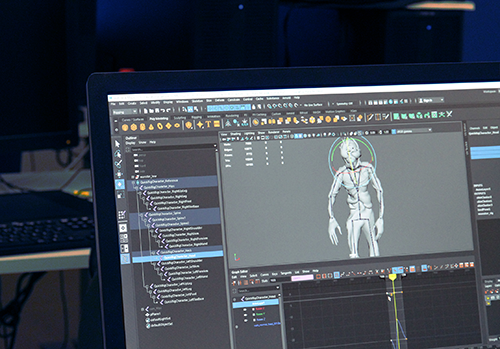 3D animation programme image